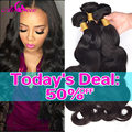 10A Mink Brazilian Body Wave 4 Bundles Brazilian Virgin Hair Body Wave, Rosa Hair Products Brazilian Human Hair Weave Bundles