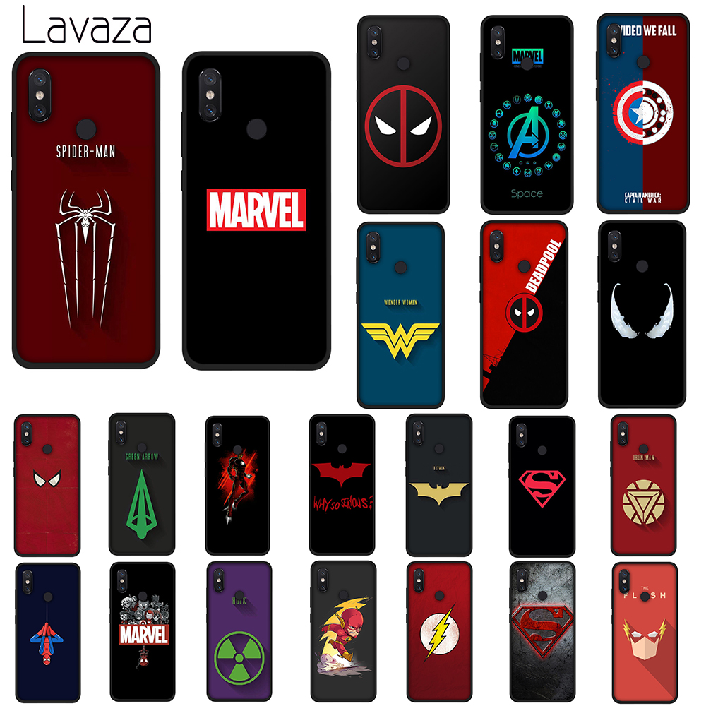 Lavaza MARVEL LOGO Soft Silicone Case Cover for Huawei Mate 10 20 P9 P10 P20 Lite Pro P Smart 2019 TPU Cases image