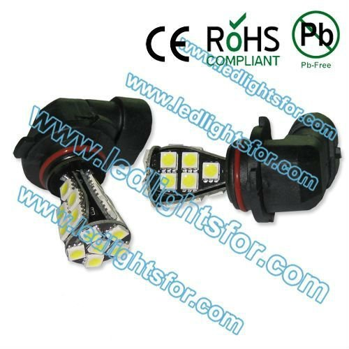 20pcs/lot high quality  21 SMD 5050 Error Free,h10 led auto,py20d fog lights,H10 led canbus