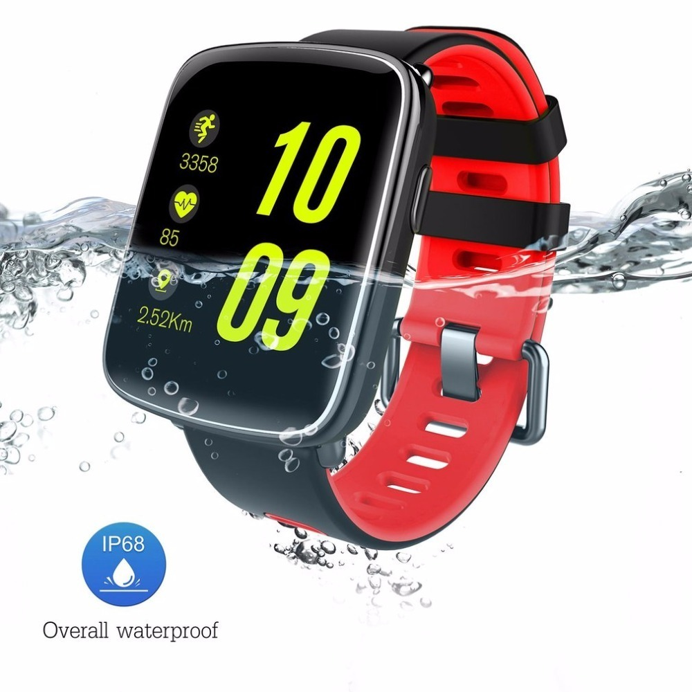 GV68 Smart Watch IP68 waterproof MTK2502 Bluetooth 4.0 Sport Watch Support Pedometer Heart Rate test for iPhone Android Phone цена