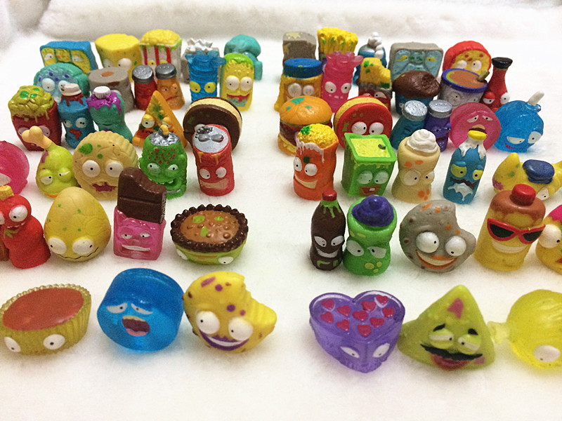 20Pcs/lot Popular Cartoon Anime Action Figures Toys HOT Garbage Moose The Grossery Gang Model Toy Dolls Kids Christmas Gift 48pcs lot action figures toy stikeez sucker kids silicon toys minifigures capsule children gift