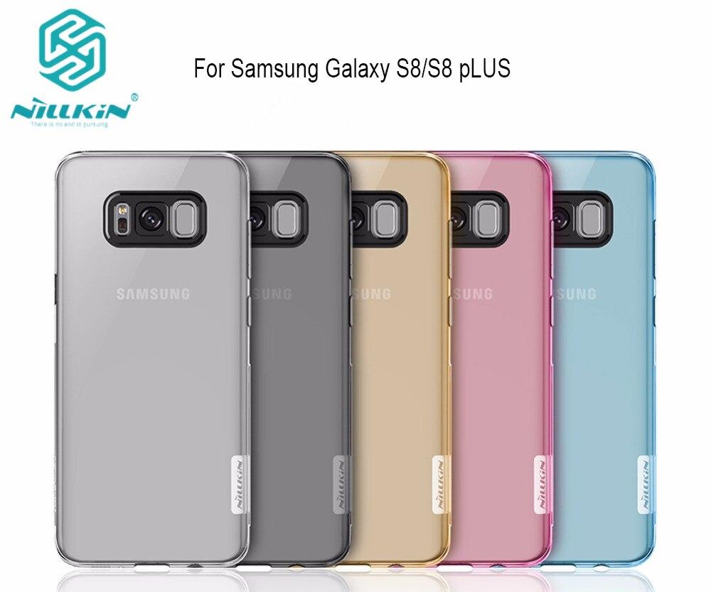 ΞPara Samsung Galaxy S8/S8 Plus funda nillkin Nature TPU silicona ...