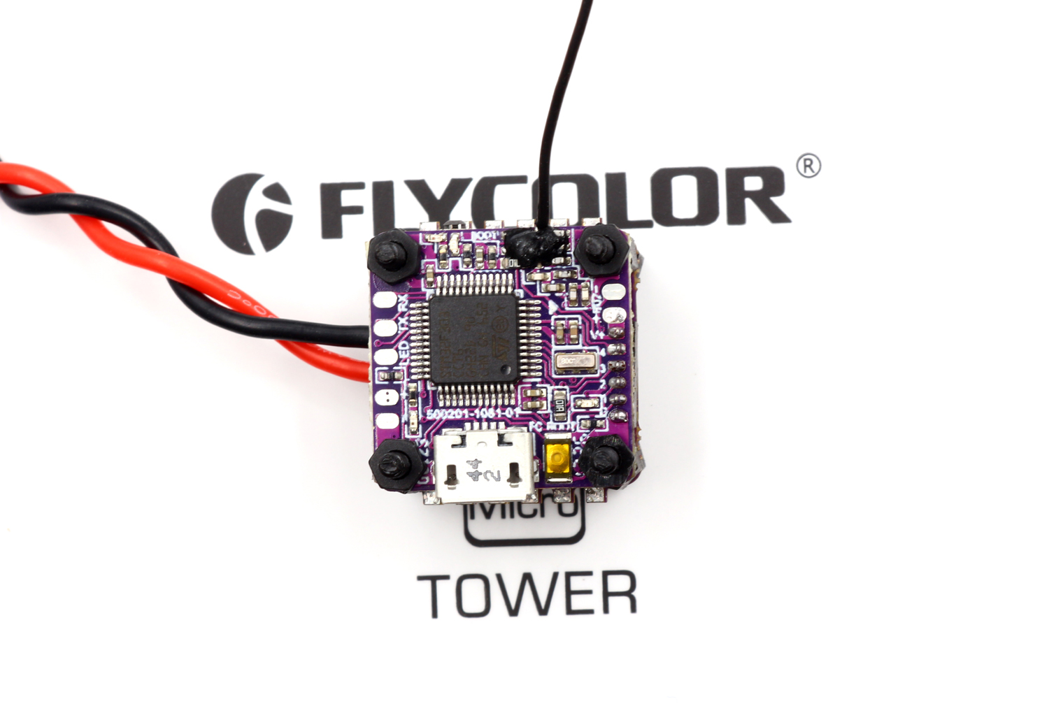 JMT Flycolor Raptor Micro Tower F3 Flight Controller + 4 IN 1 4A Brushless ESC Multi-Rotor for DIY RC Racing Drone Spare Parts