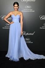 Vestido De Madrinha New Arrival 2014 Cheap Sweetheart Ruffles A Line Light Sky Blue Simple Long Bridesmaid Dress