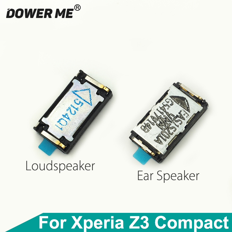 Dower Me Top Ear Speaker Receiver Earpiece Earphone Bottom Loudspeaker And Adhesive For SONY Xperia Z3 Compact M55W Z3mini D5833