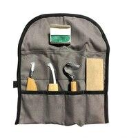Novo 5 pçs conjunto cortador de escultura em madeira escultura ferramentas chip facas diy mão cinzel carpintaria ferramentas manuais