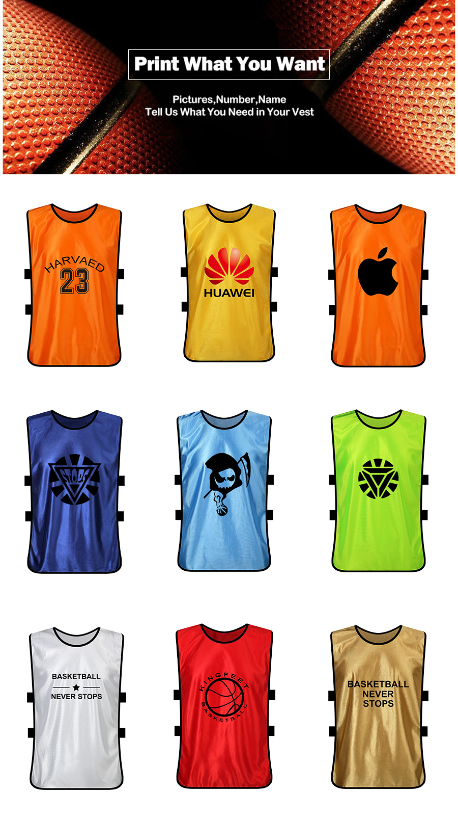 5 Pieces Adult Kid Sports Soccer Training Vest Soccer Jerseys Football Vest  Pinnies Soccer-vest Sport Basketball Training Vest b2c188728