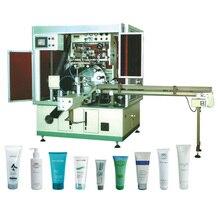 Full automatic single color soft pipe uv screen printer machine,bottles uv screen printing machine