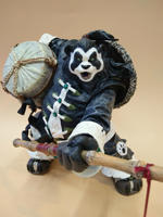 Toy Store Super Hot Movies and TV Surroundings 28.5CM Panda PVC Material Anime Handmade Holiday Gifts