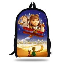 цена на kids school backpack boys school bags men travel shoulder bag The Little Prince school backpacks for teenagers bookbag dropship