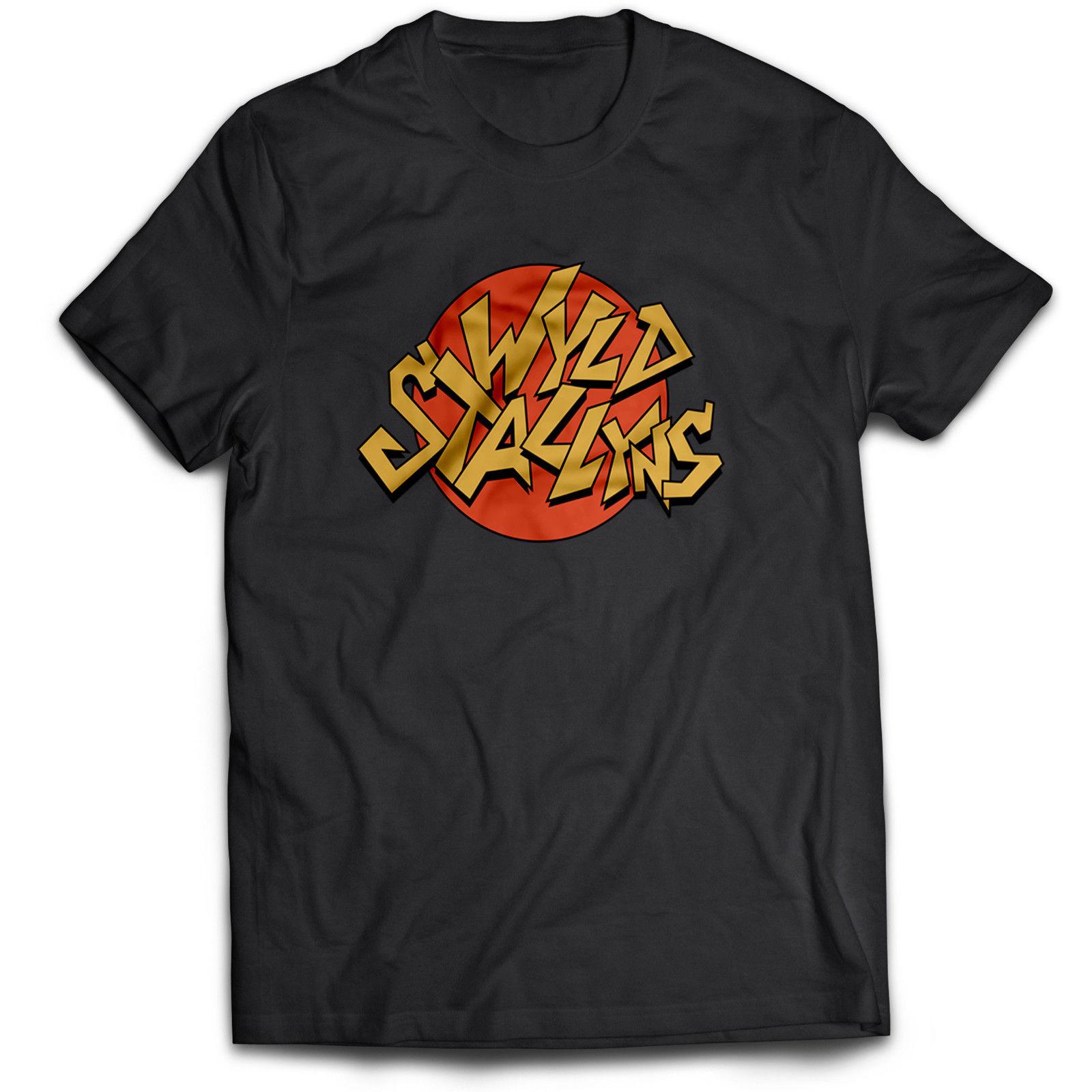 Bill et Ted Wyld Stallyns Film 90 s Comédie Drôle Film Sauvage Étalons T-shirt Fierté De La Créature T-Shirts