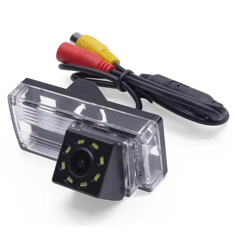 Miễn phí Vận Chuyển Xe Rear View Camera Auto Sao Lưu Xếp Đậu Xe chiếu hậu Camera cho Toyota Land Cruiser LC 100 120 200 Prado