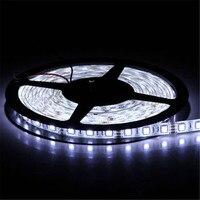 Lumiparty ledストリップdc12v 60 leds/m 5メートル柔軟なledライトrgb 5050 ledストリップクリスマス照明屋外防水ロープ照