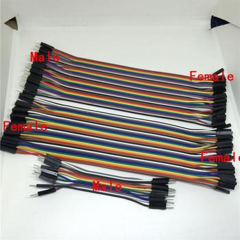 40PIN linia Dupont 10CM 20CM 30CM kobiecy męski i żeński do żeńskiego kabel mostkujący Dupont kabel do arduino DIY zestaw deska do krojenia chleba tanie i dobre opinie CN (pochodzenie) RUBBER Miedzi 2 54MM Stranded Napowietrznych Izolowane 0 07kg (0 15lb ) 10cm x 10cm x 10cm (3 94in x 3 94in x 3 94in)