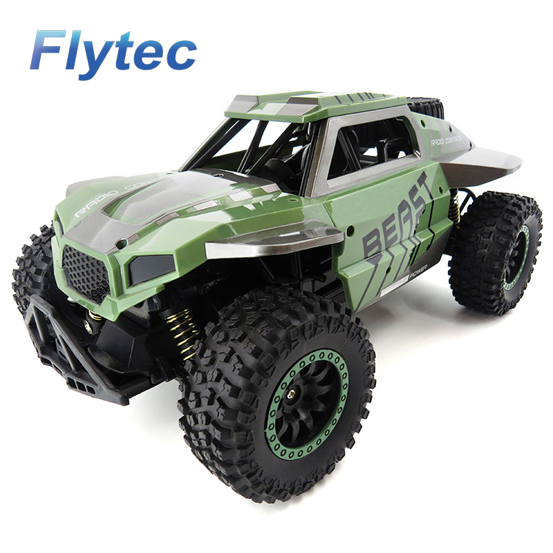 Flytec 146A 1:18 RC voitures tout-terrain véhicule de course camion sur chenilles 2.4 Ghz 4WD haute vitesse Radio télécommande voiture Buggy