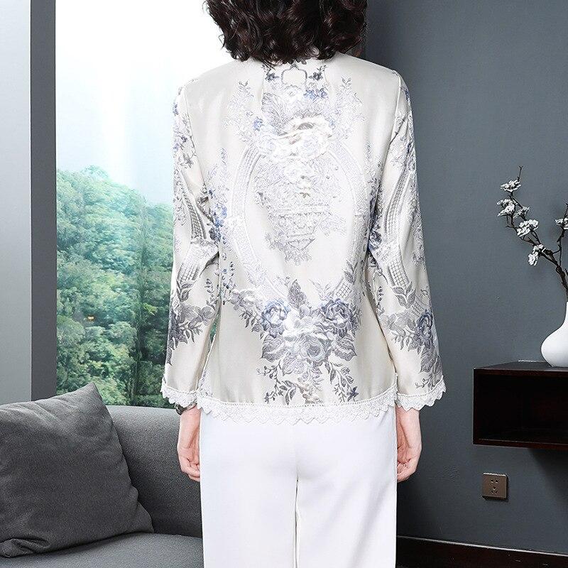 Femelle Casacos Date Femmes Vestes Manteau Printemps Imprimer Dentelle Tops Automne Jacquard Mode De Patchwork Survêtement Vintage 2019 UwUqfZBpW