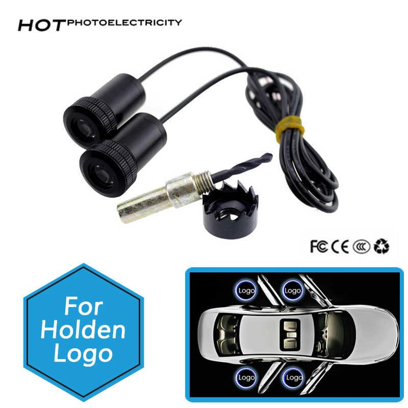 2PCS LED Door Light For Holden VT VX VU VY VZ VE Commodore HSV Mag Logo  Laser Projector Light Accessories