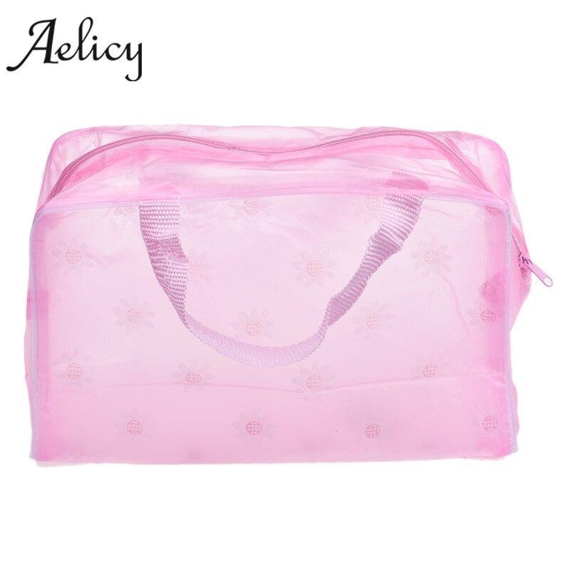 Aelicy Портативный Макияж Косметики Для Путешествий Wash Зубная щётка сумка органайзер высокое качество удобно Для ванной Макияж сумка