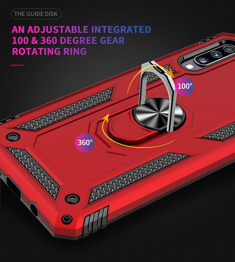 لسامسونج غالاكسي S8 S9 S10 زائد S10E 5G ملاحظة 8 9 حافظة مدرعة هجينة ل A10 A20 A30 A40 A50 a70 M10 M20 للصدمات الهاتف غطاء