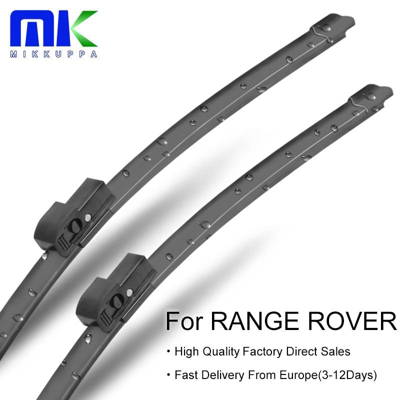 Mikkuppa Wiper Blades For Land Rover Range Rover Classic/P38A/ L322/L405 1970-2017 Windshield Wipers Auto Car Accessories