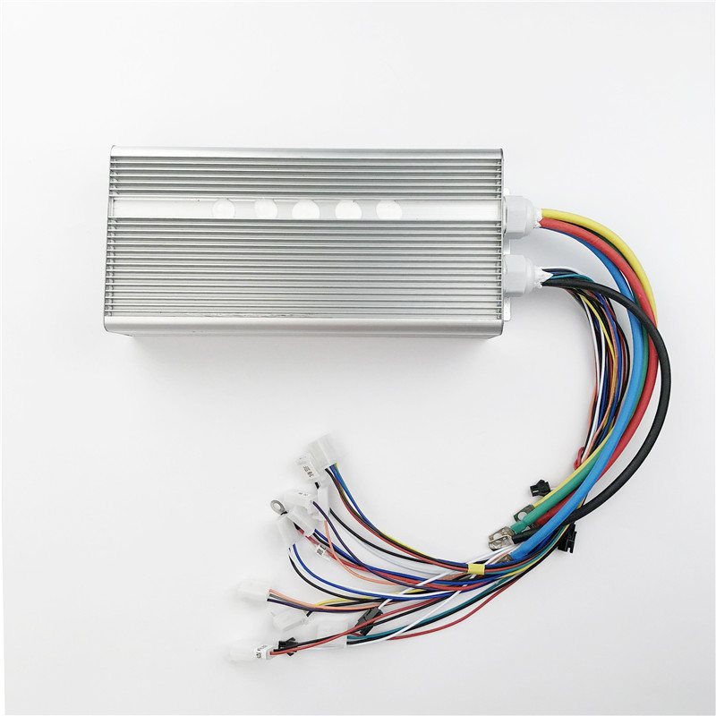 42V -72V 3000W Brushless Motor Speed Controller 80A 24Mosfet 120Degree Phase With Sensor Hall For Electric Bike Car Motorcycle 80a brushless electric motor speed controller for r c helicopter boat car