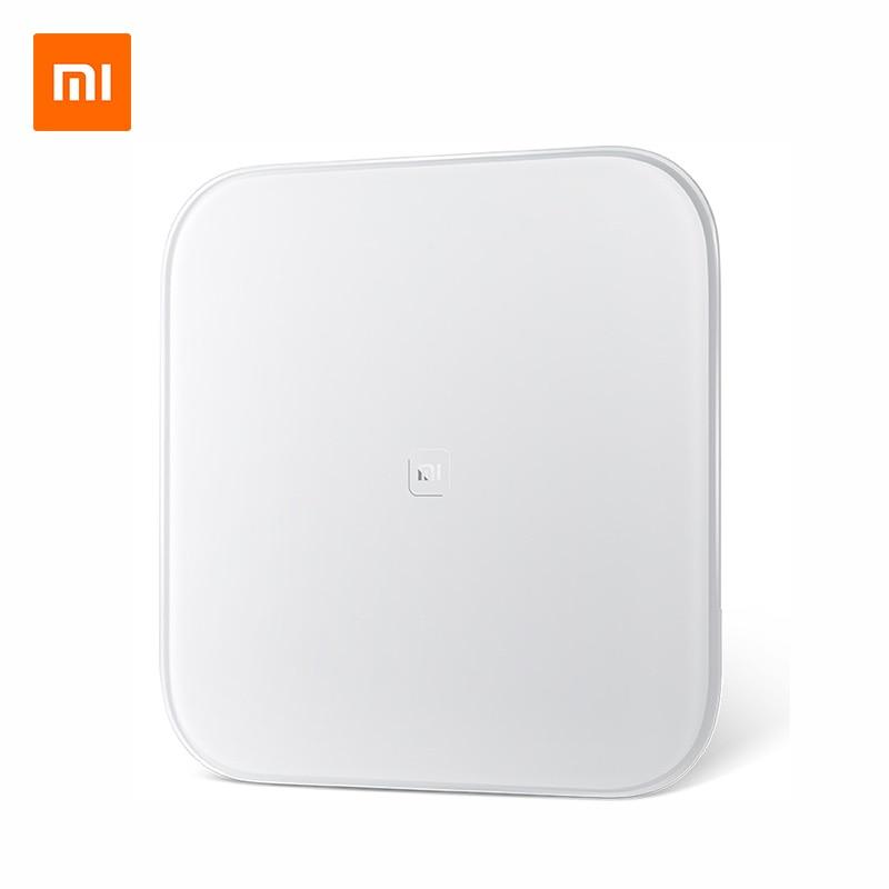 Оригинальный Xiao mi весы mi умные весы Поддержка Android 4,4 iOS 7,0 выше Bluetooth 4,0 Xiao mi потеря веса цифровые весы
