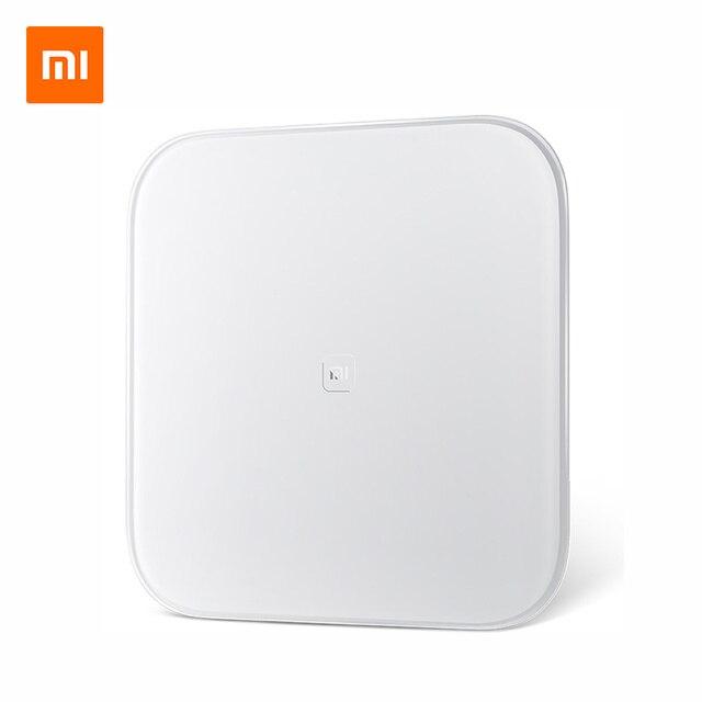 Original Xiaomi escala mi inteligente escala soporte Android 4,4, iOS 7,0 Bluetooth 4,0 Xiaomi perder peso escala Digital