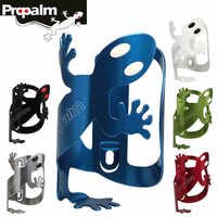 PROPALM Gecko Bike Bicycle Bottle Cage Bottle Bracket Holder Anode Aluminum Colorful