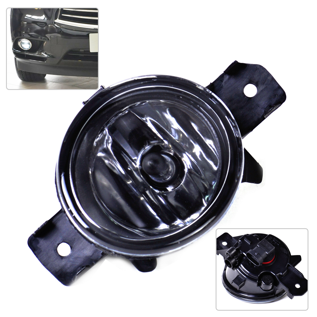 Right Fog Light Lamp +H11 Halogen Bulb 26150-89927 NI2593117 Fit for Nissan Pathfinder Sentra Murano Rogue Infiniti M35 M45 JX35