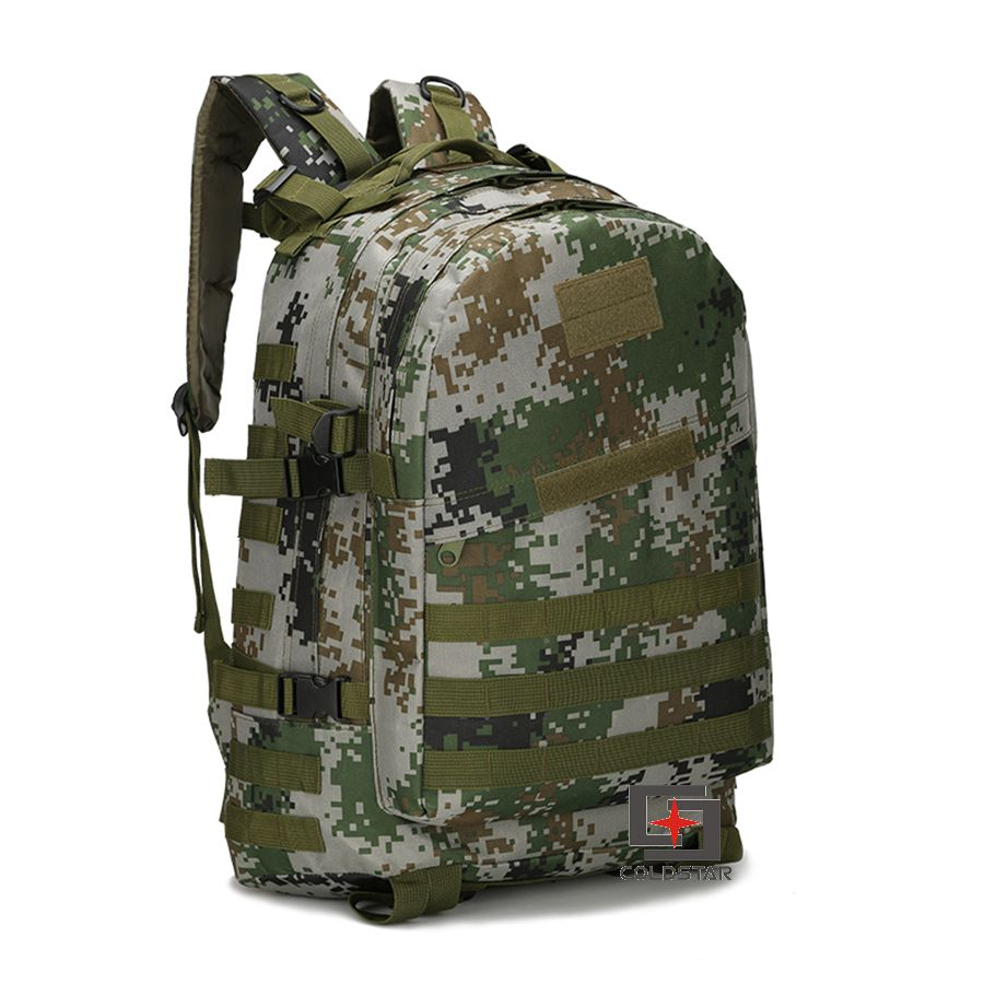 New Green Digital Camo 3D Military Tactical Backpack High Quality Waterproof Hiking Camping Bags Unisex Travel