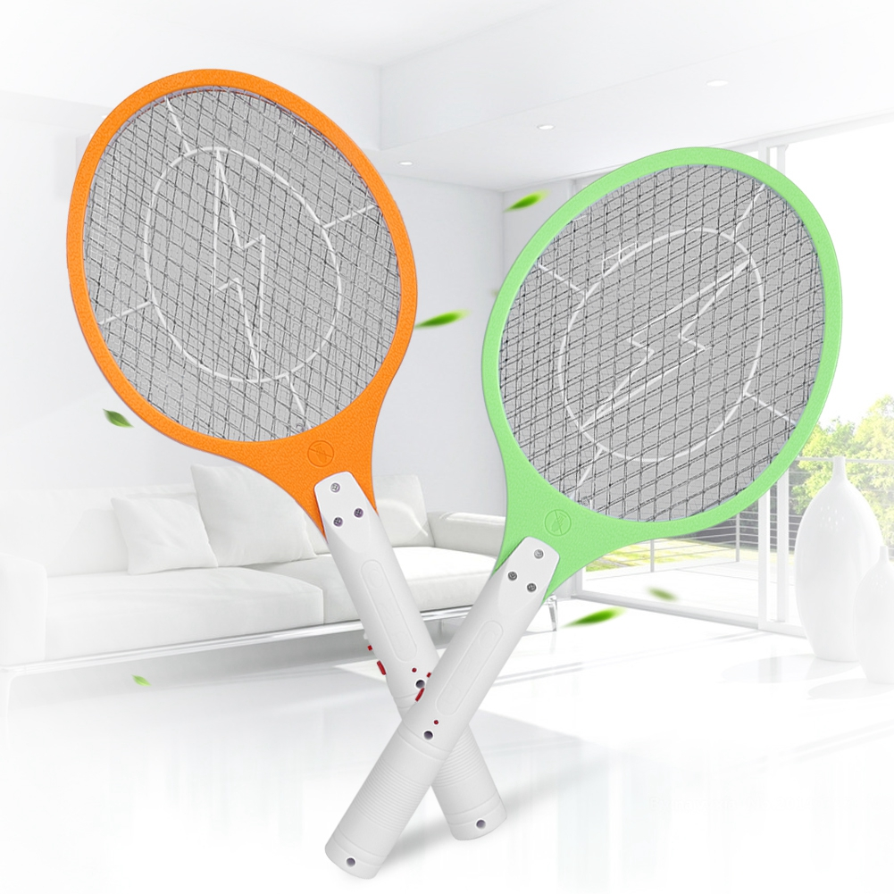 Recarregável Mosquito Elétrico Mata-moscas Mosquito Assassino Bug Zapper raquette moustique Raquete Assassino Insetos Moustique Anti