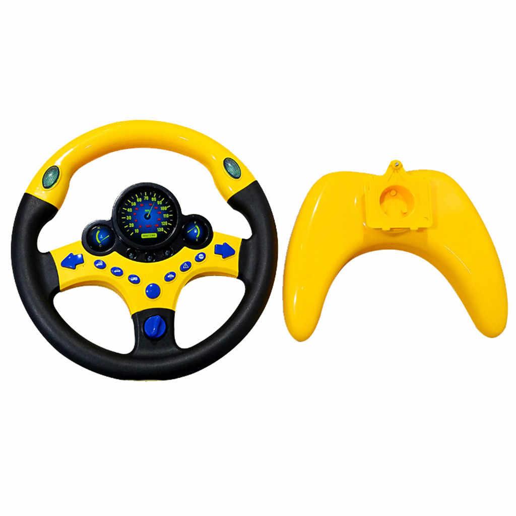 Tik Tok Ins Kid Copiloot Gesimuleerde Stuurwiel Racing Driver Speelgoed Educatief Klinkende Auto Styling Auto-interieur Accessoires #20