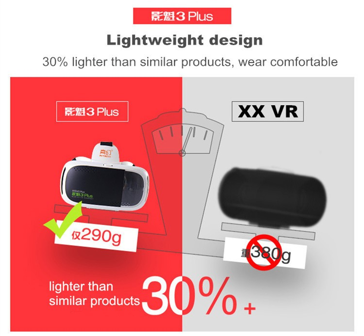 RITECH III + Virtual Reality 3D Glasses RIEM 3 Plus VR Headset Oculus Rift Google Cardboard 2 Goggles for 4.75.5-6 Smart Phone.jpg (2)