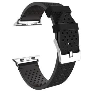 Image 3 - Hoco אביר עור אמיתי צמיד 20mm 22mm עבור אפל שעון סדרת 4/3/2 רצועת השעון עבור iwatch 40/44/38/42