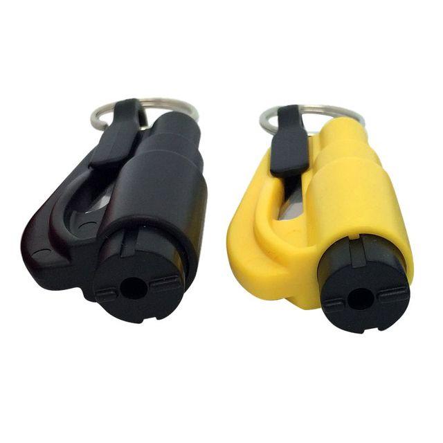 Rescue Hammer Car Life-saving Escape Tool3 in 1 Emergency Mini Safety Hammer Auto Car Window Glass Breaker Seat Belt Cutter