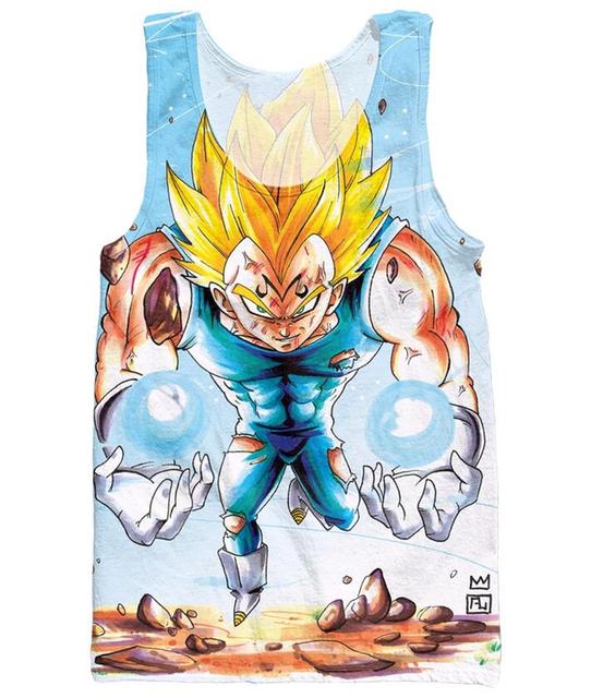 Dragon Ball Z Super Saiyan Tank Tops