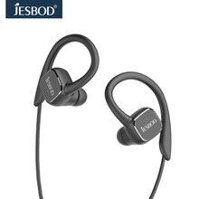 Jesbod H1 QY13 Magnética auriculares Auriculares Wireless Sport Estéreo Bluetooth Headset Sweatproof auriculares Micrófono para las llamadas AptX APP