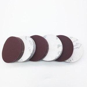 """Image 5 - 40ps 3"""" 75mm 80mm Round Sandpaper Disk Sand Sheet Grit 320/400/600/800/1000/1200/1500/2000 Hook and Loop Sanding Disc for Sander"""