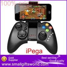 Ipega pg-9021 juego pc controlador de juegos inalámbrico bluetooth gamepad joystick para Android/iOS teléfono celular MTK Tablet PC TV CAJA