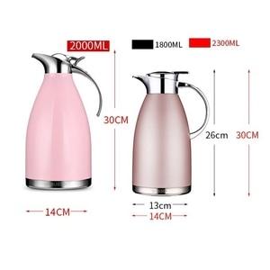 Image 3 - 1.8L/2.3L魔法瓶フラスコ熱水差し投手ステンレス鋼二重層真空断熱ボトルコーヒーティーケトルポット