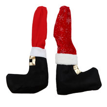 1Pc Brand New and High Quality Table Leg Chair Foot Covers Furniture Legs Protective Covers Xmas Party Decoration(China)
