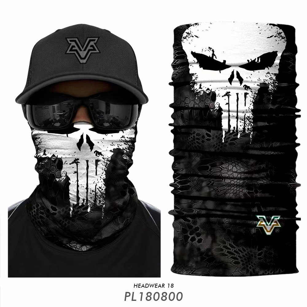 Tube Scarf Motorcycle-Face-Mask Neck-Gaiter Spiderman Venom Punishers Cycling Bandana