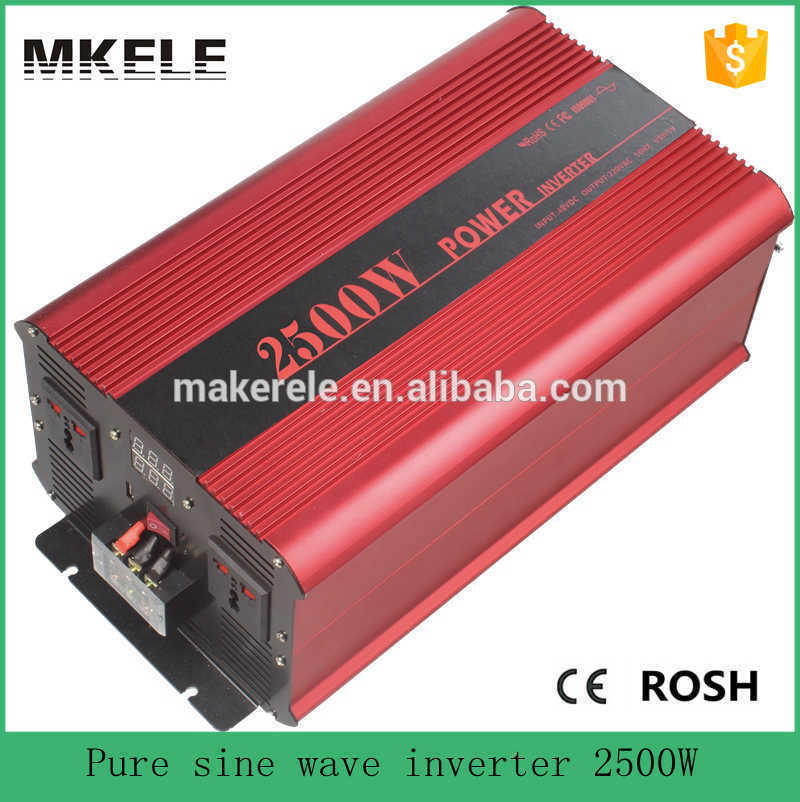 MKP2500-242R dc ac off grid pure sine wave 2500W 240v dc ac inverter to 240v solar 24 volt inverter power inverters micro inverters on grid tie with mppt function 600w home solar system dc22 50v input to ac output for countries standard use