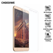 CHOEOIWE Display Protectors for Xiaomi four 4C 5 Redmi three 3A four Professional 4A Be aware four 4X three Particular Version World Model 9H Tempered Glass