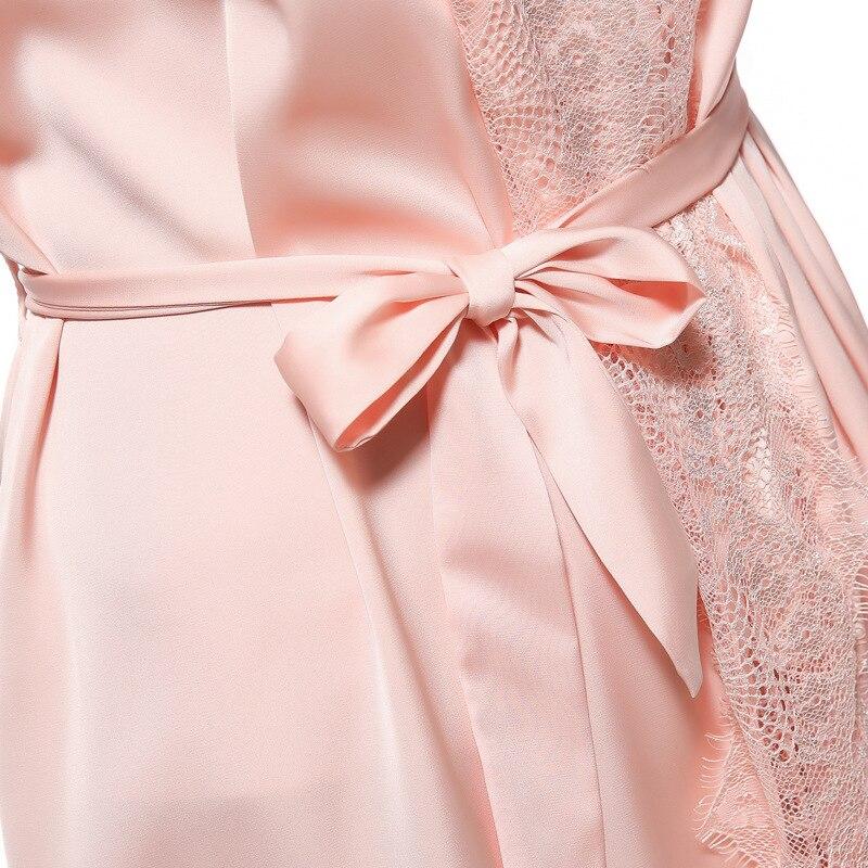 Nuevo diseño de la mujer albornoces ropa de dormir batas damas de ...