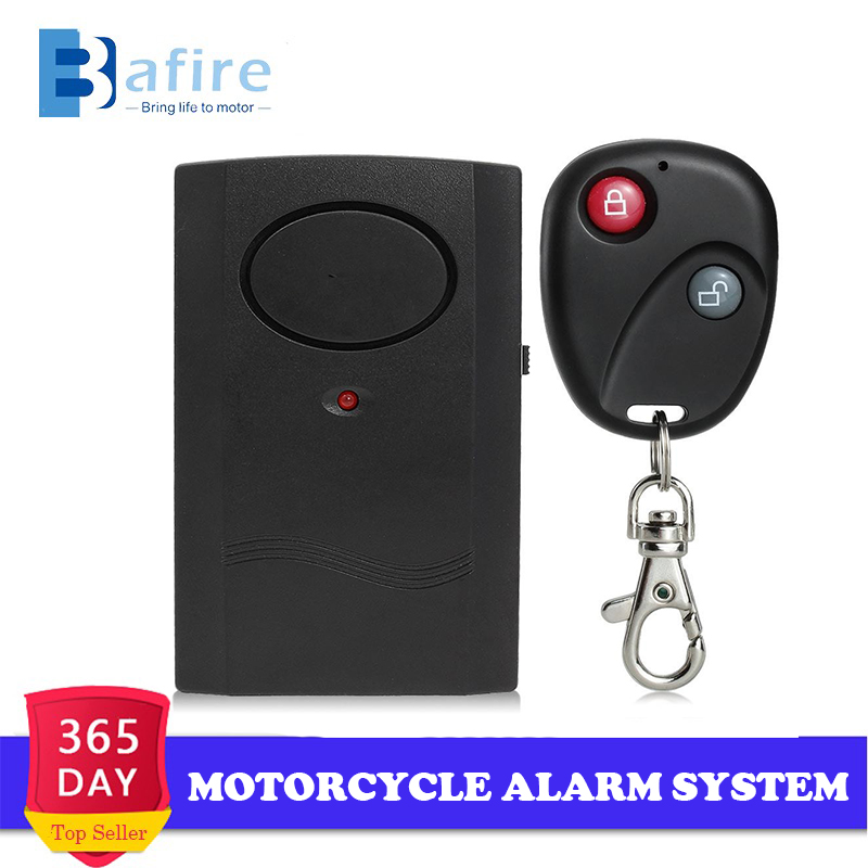 Universal Motorcycle Alarm System Motorbike Scooter Anti-theft Easy-to-use Alarm Security System Universal Wireless Remote 120db
