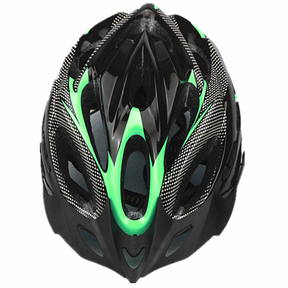 Amiable Racing Classical Visor Bicycle Helmet Craniacea Anti-vibration Outdoor Crashworthy Comfortable Durable Safety Hat Can Be Repeatedly Remolded.