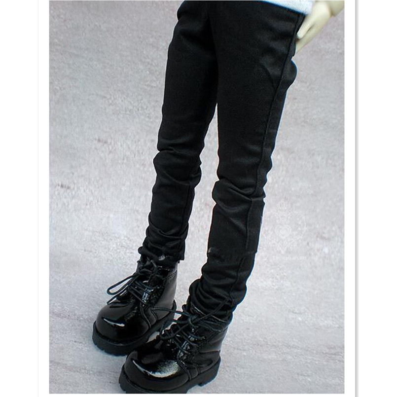 WOWHOT High Quality <font><b>1/3</b></font> 1/4 Scale Male <font><b>BJD</b></font> <font><b>Clothes</b></font> Black Straight-Leg Pants with Bag For MSD Dolls,<font><b>BJD</b></font> / <font><b>SD</b></font> Doll Toy Accessories image