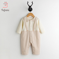 Baby Rompers Newborn Baby Boy Clothes Organic Cotton Baby Girl Clothing Babies Long Sleeve Jumpsuit Romper