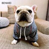 Benmei الشتاء كلب الملابس ل الكلاب الصغيرة الكبيرة هوديس مع هودي لطيف الكلب معطف سترات الشتوية ملابس تشيهواهوا الملابس